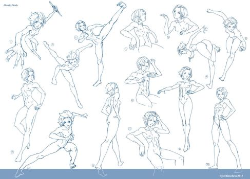 Alacrity Nude Pose Chart by JetEffects