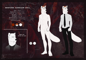 Redford H. Doll (Reference Sheet) by J-Harper