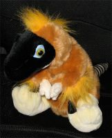 Fluffy Raptor Plushie by t-subgenius