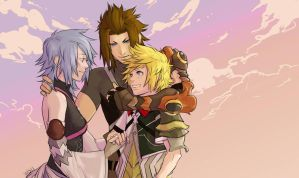 Kingdom Hearts: Birth By Sleep by AMSBT