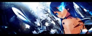 Signature - [Black Rock Shooter] by QuasiXi