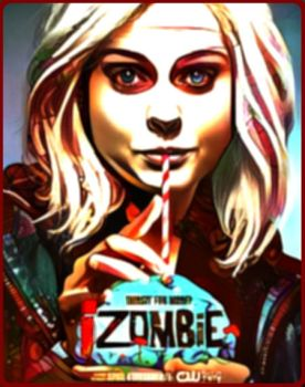 iZOMBIE by yellowroseart