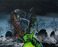 Eddie from Iron Maiden by AmandaPainter87