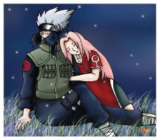 for kakashi fan, kakasaku by watermelon-kaiye