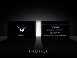 Blackout business card II by mprox