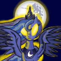 The Waning of the Moon by DjSteelFox