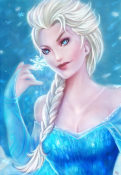 Frozen: Elsa by YETI000