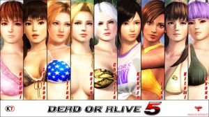 DEAD OR ALIVE XTREME....... 5 ~ Bikini Madness 2 by Leifang12
