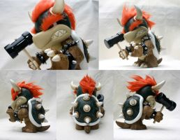 Bowser King of the Koopas by mesmithy