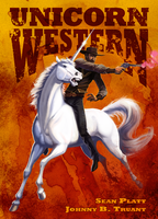 Unicorn Western cover by squidbunny