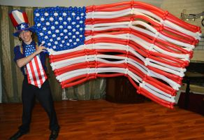 Balloon American Flag by DJdrummer
