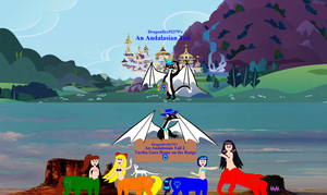 An Andalasian Tail Teaser Series Posters by Dragonfire92379