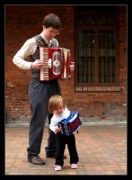 Accordion to Dad by bigmammajen
