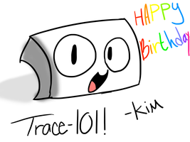 Happy Late Birthday! by kimbeepancake