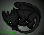 Baby Toothless by 111cari111