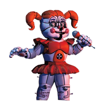 Circus Baby Calendar Render Transparent by Some-Crappy-Edits