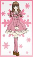 Winter Lolita by cajime