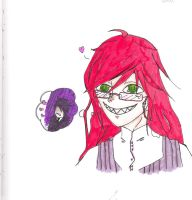 Grell day dream by BlueStarForeverDream