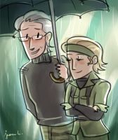 MGS3: Under the Rain by WithSkechers