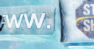 Iced logo - ice logotyped by d2neodesigner