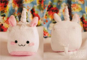 HANDMADE Cute Unicorn Plushie by Plusheemaniac