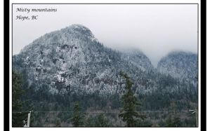 Misty Mountains by BlindedVisions