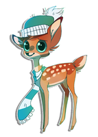 Winter Fawn by Whippe
