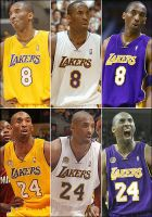 kobe bryant nba player 1 by enever