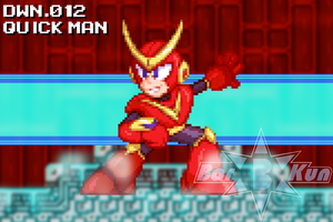 Quick Man Custom Sprite by Bar-Kun