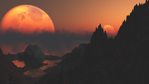 Unknown Planet by kodereaper