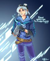 League of Legends - Frosted Ezreal by kri0921