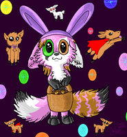 The Easter Fox by Nine-tailed-FireFox
