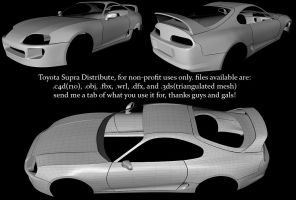 Toyota Supra Quit Distribute by ragingpixels