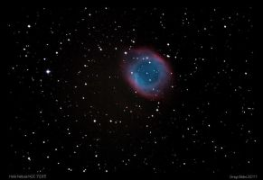 Helix Nebula by CapturingTheNight
