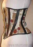 Swing Hook Montage Corset by Trinitynavar