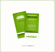 visiting card by drammen