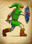 Link, The Hero of Time by Paterack