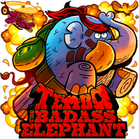 Tembo The Badass Elephant by POOTERMAN