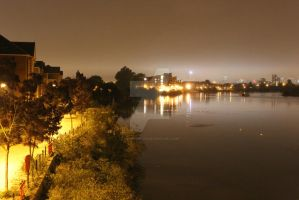 Taff at Night by Kevin-Welch
