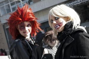 Axel Sora and Namine zombie by xMorganaArTx