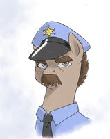 Cop Pony by Valkyrie-Girl