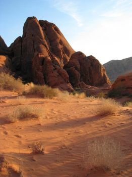 00206 - Desert Scenery by emstock