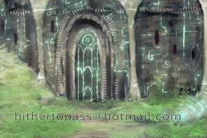 Temple Hill - speed paint by FalyneVarger