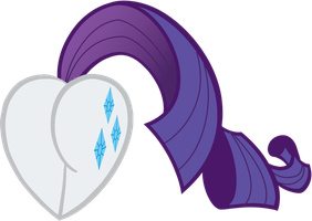 Rarity Heart by Rayodragon