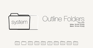 Outline Folders by SL05NED