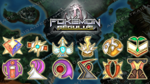Pokemon Regulus Gym Badge by Magistrum