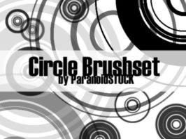 Circle Brushset by paranoidstock