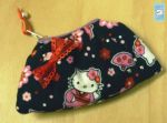 Hello Kitty kimono print pouch by The-Cute-Storm