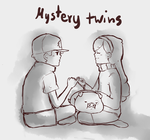 Mystery twins by Misaka-Chan