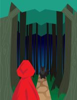 Red Riding Hood by Schlissel-art